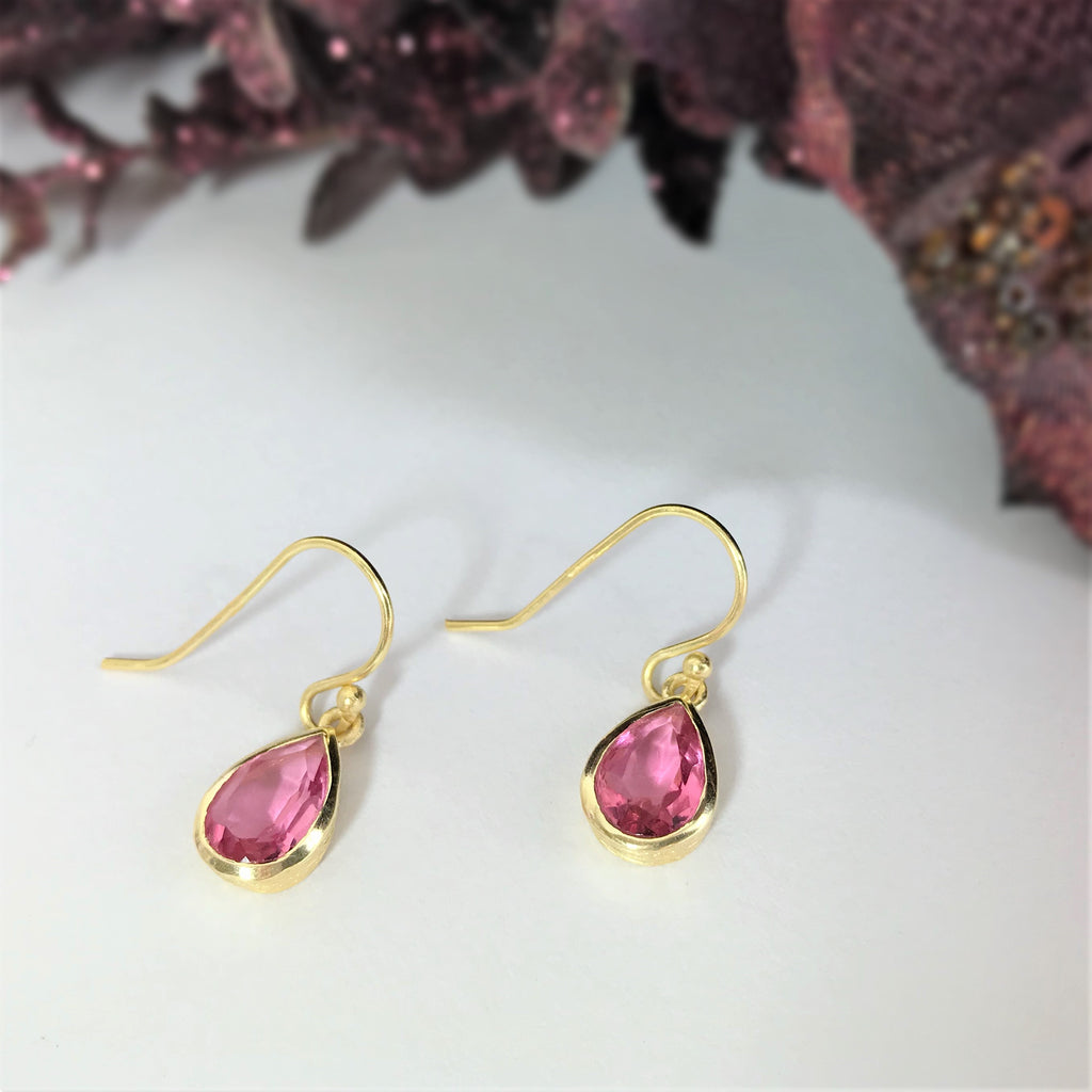 Hot Pink Earrings - VE404