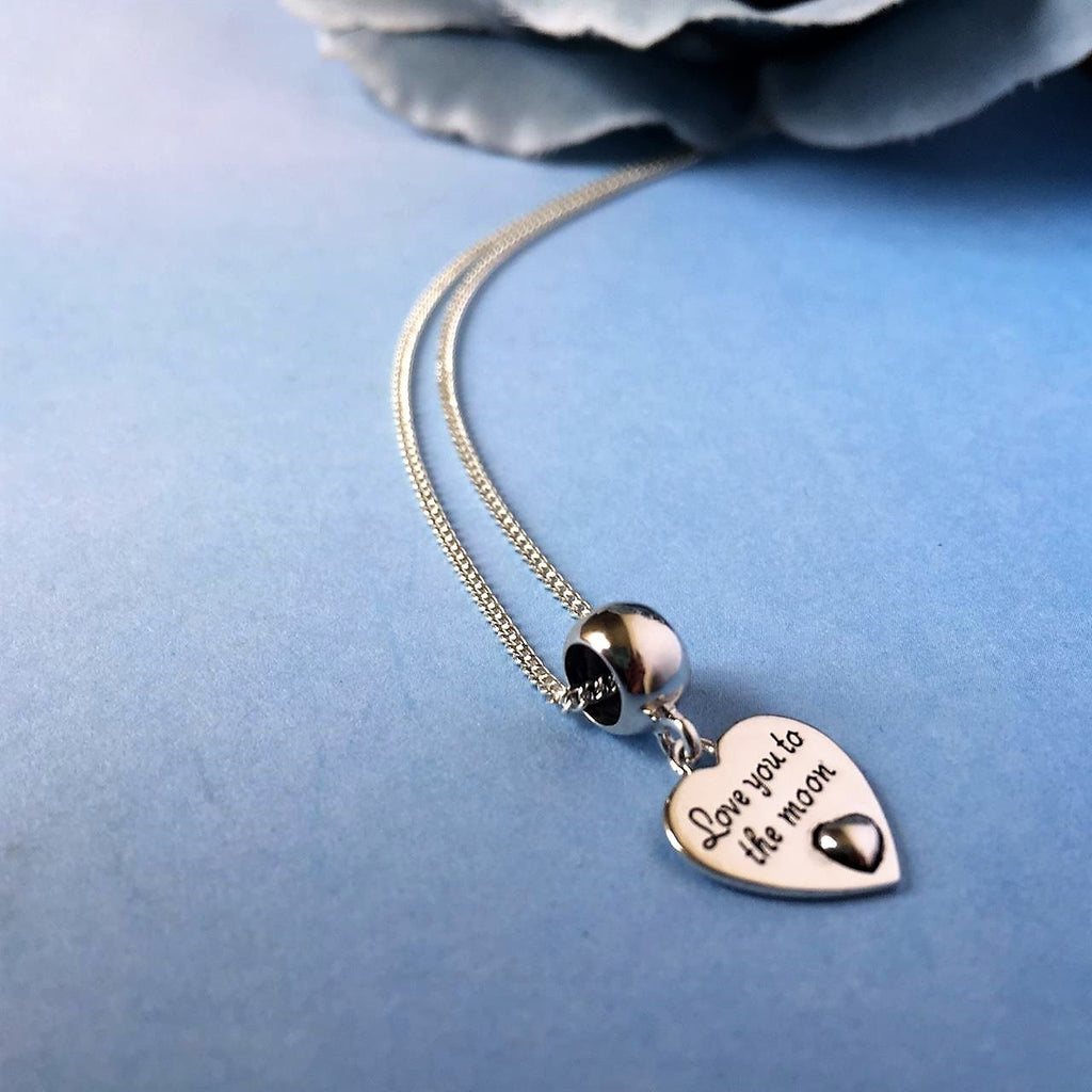 Love You To The Moon Pendant - SP2295