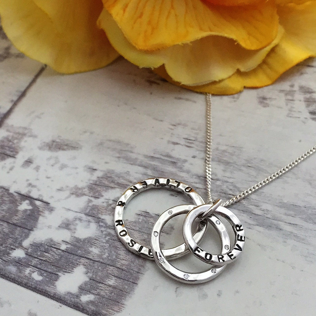 Personalised CZ Name Pendant - SPP2508