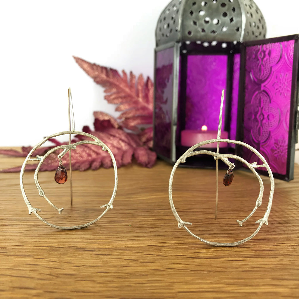 Red Forest Earrings - VE397