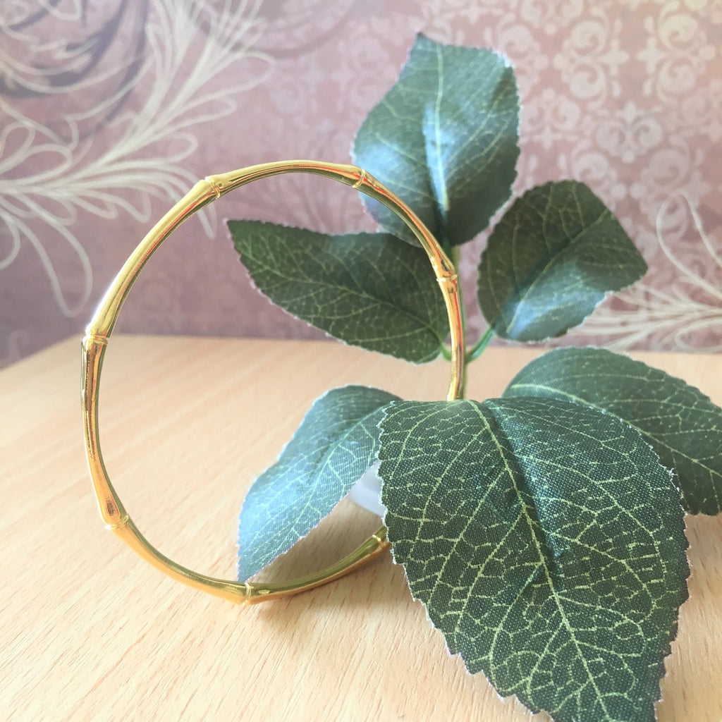 Golden Bamboo Bangle - SBGL647
