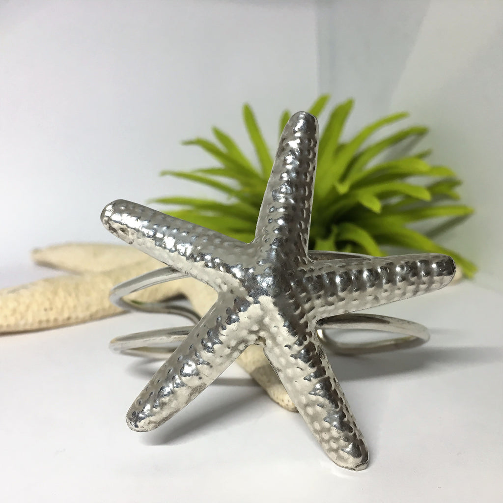 Chunky Starfish Bangle - VBGL473