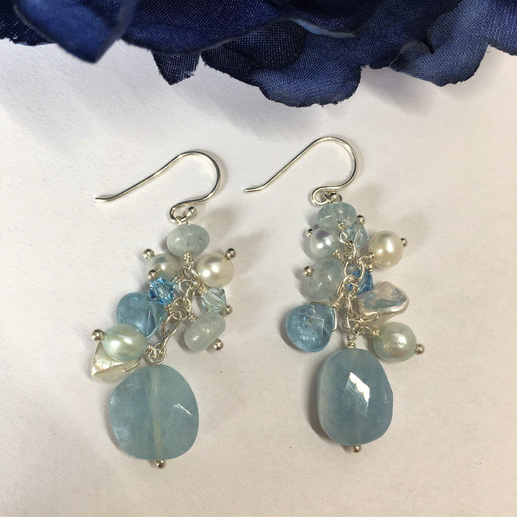 Cool Water Earrings - SE1397