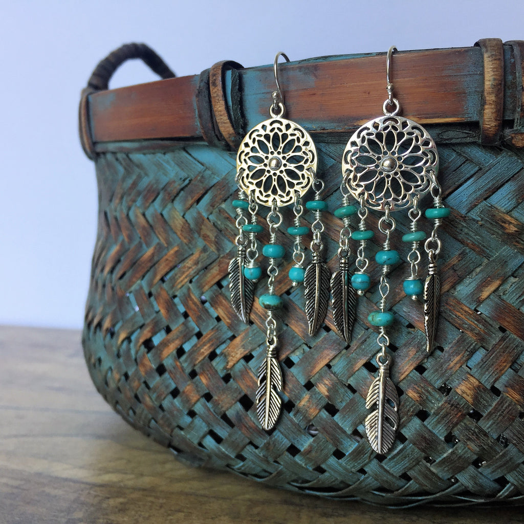 Dreamcatcher Earrings - SE4299