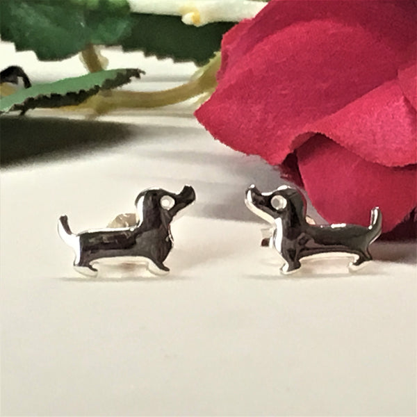 Sausage Dog Earrings - SE4317