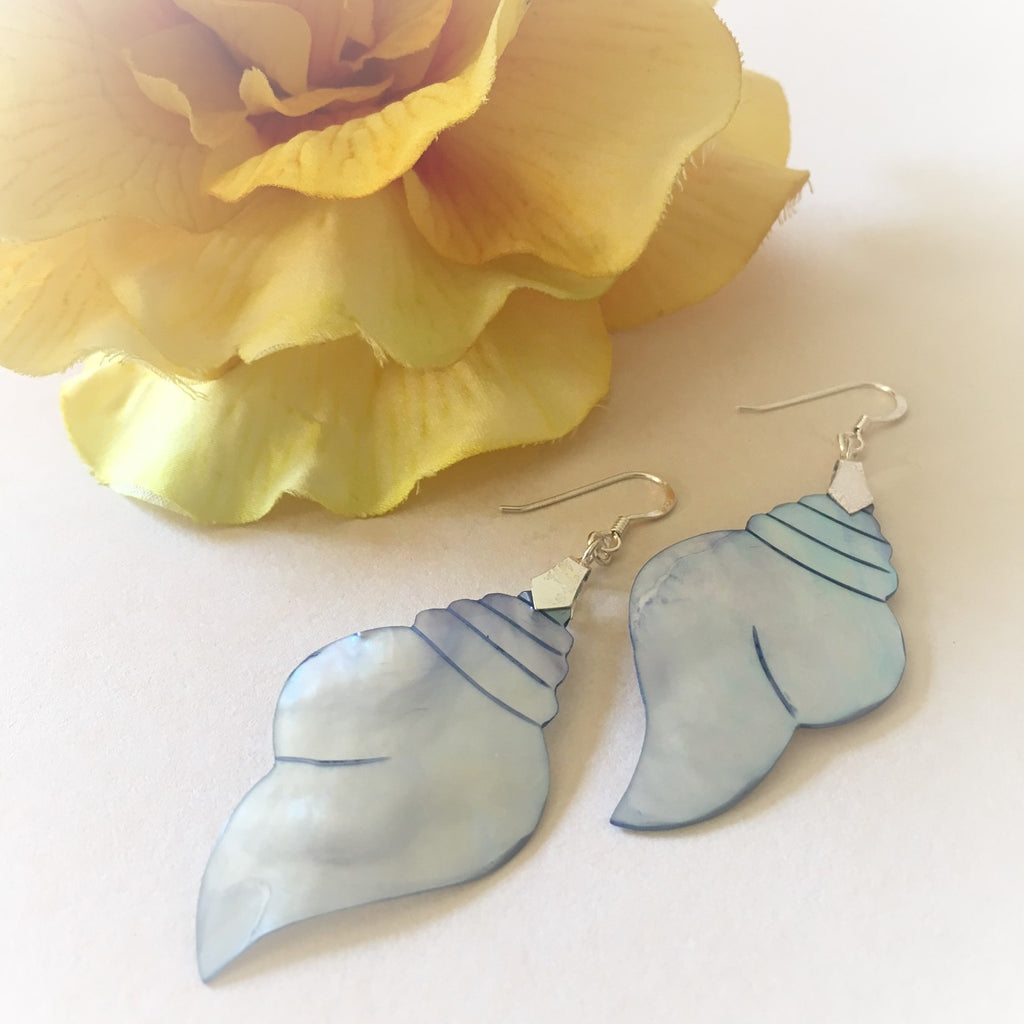 Mother of Pearl Shell Earrings - VE122