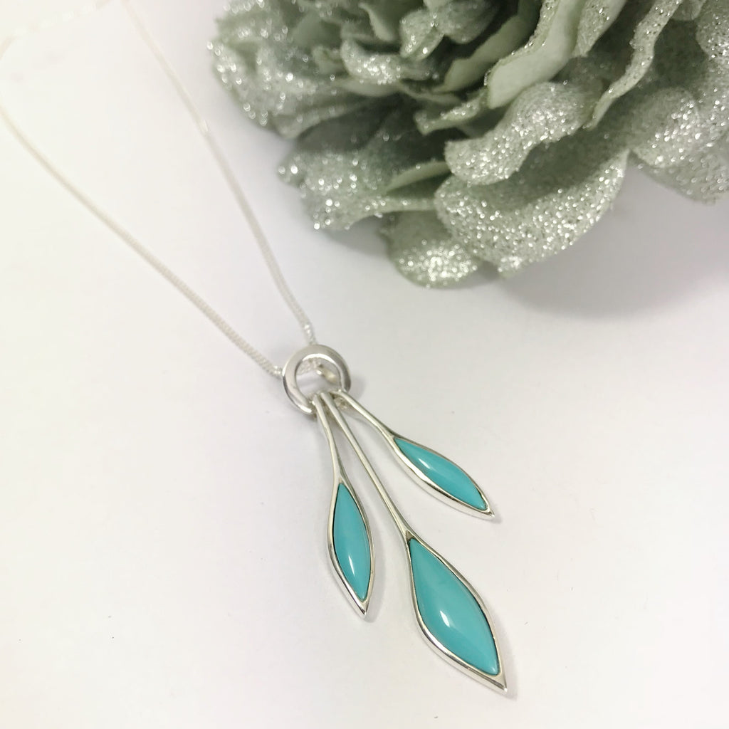 Blue Rain Pendant - SP2639