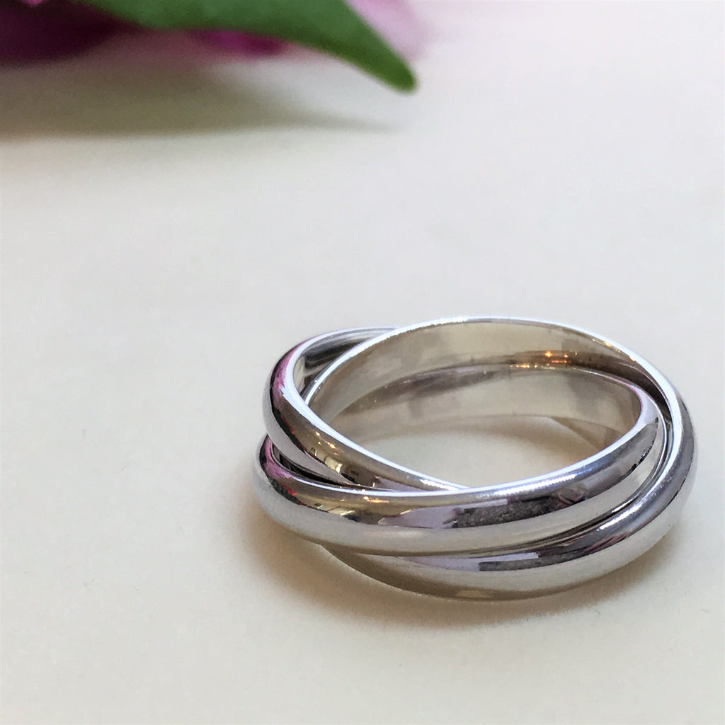 Entwined Trio Ring - SR130