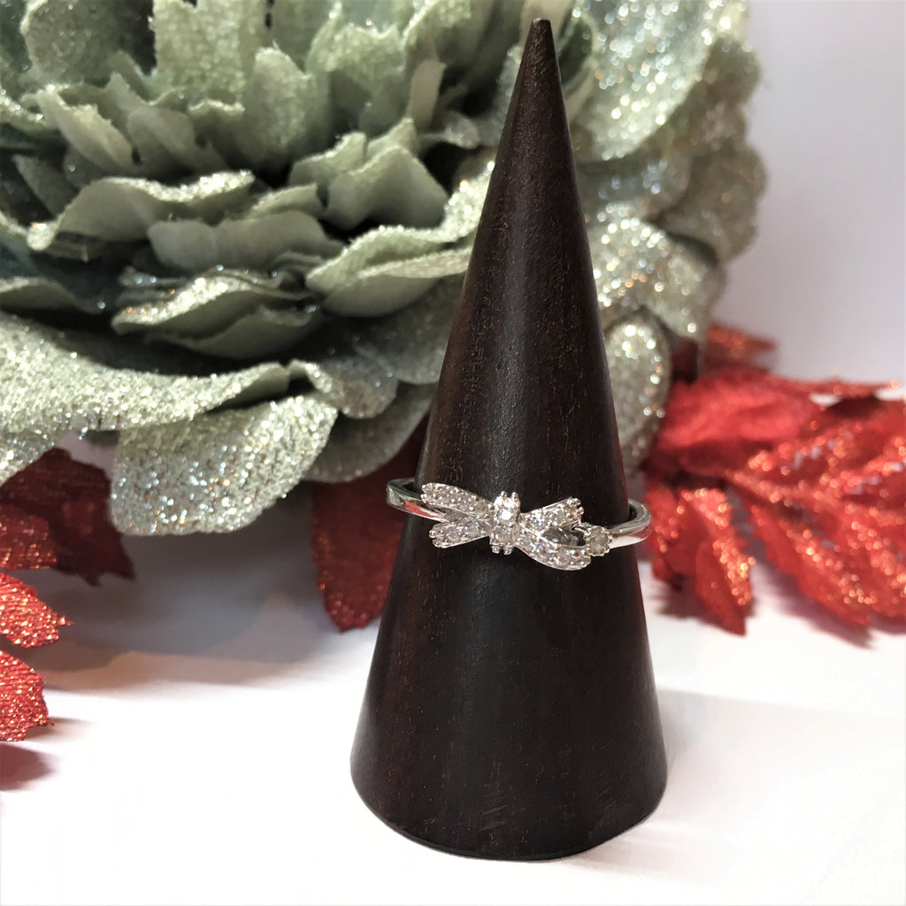 Bow Sparkle Ring - SR1605
