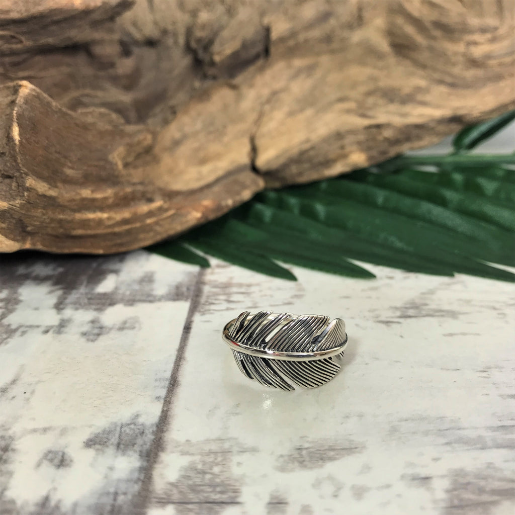 Feather Wrap Ring - R1927