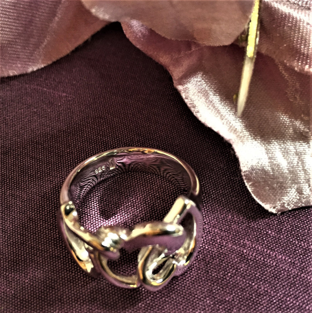 Hearts Entwined Ring - SR380