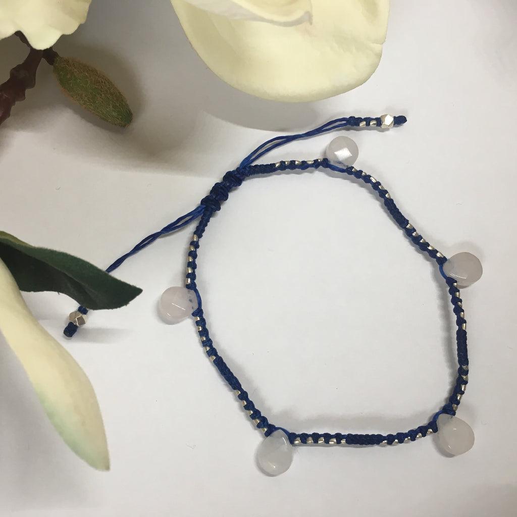 Blue Rose Anklet - VANK106