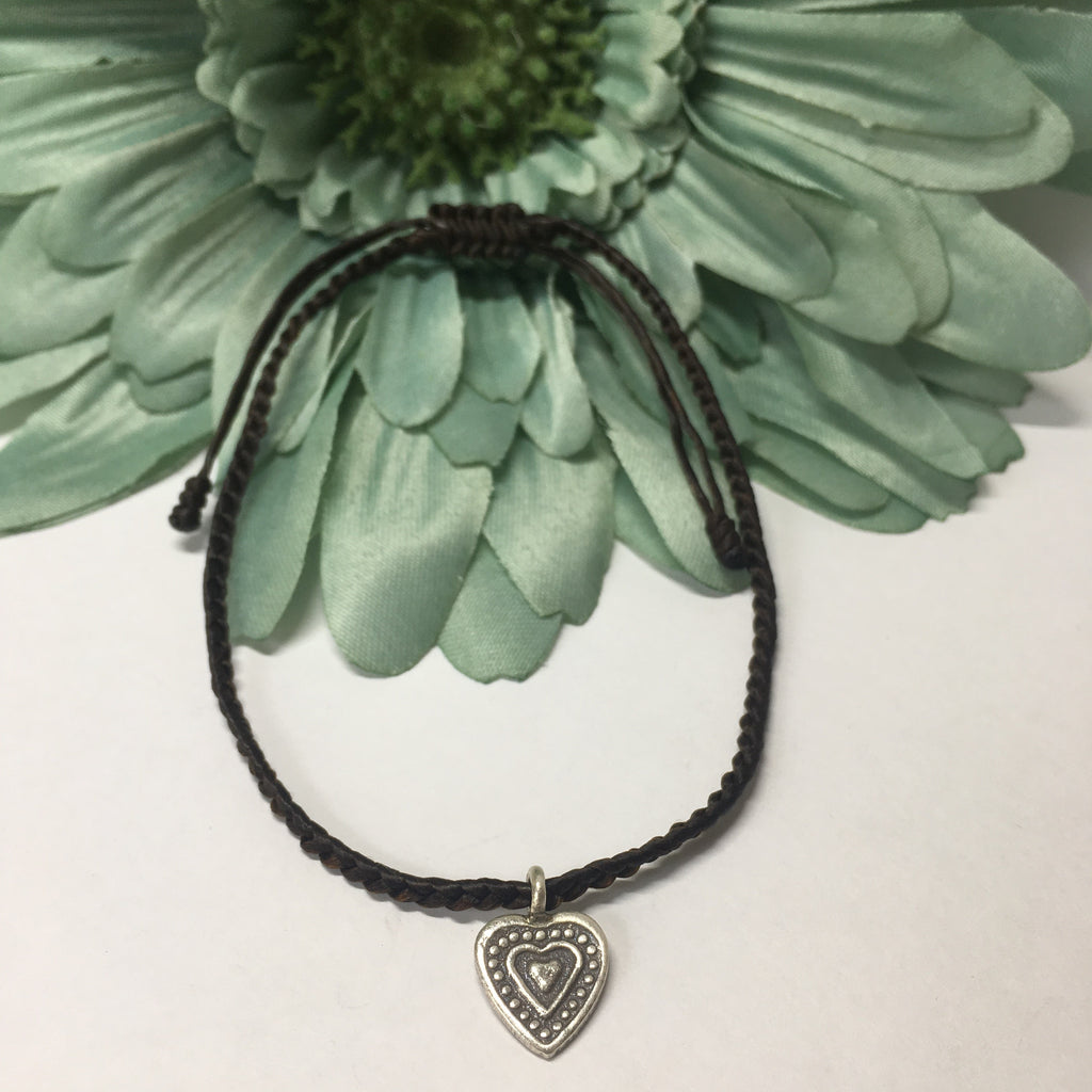 Dark Heart Anklet - VANK108