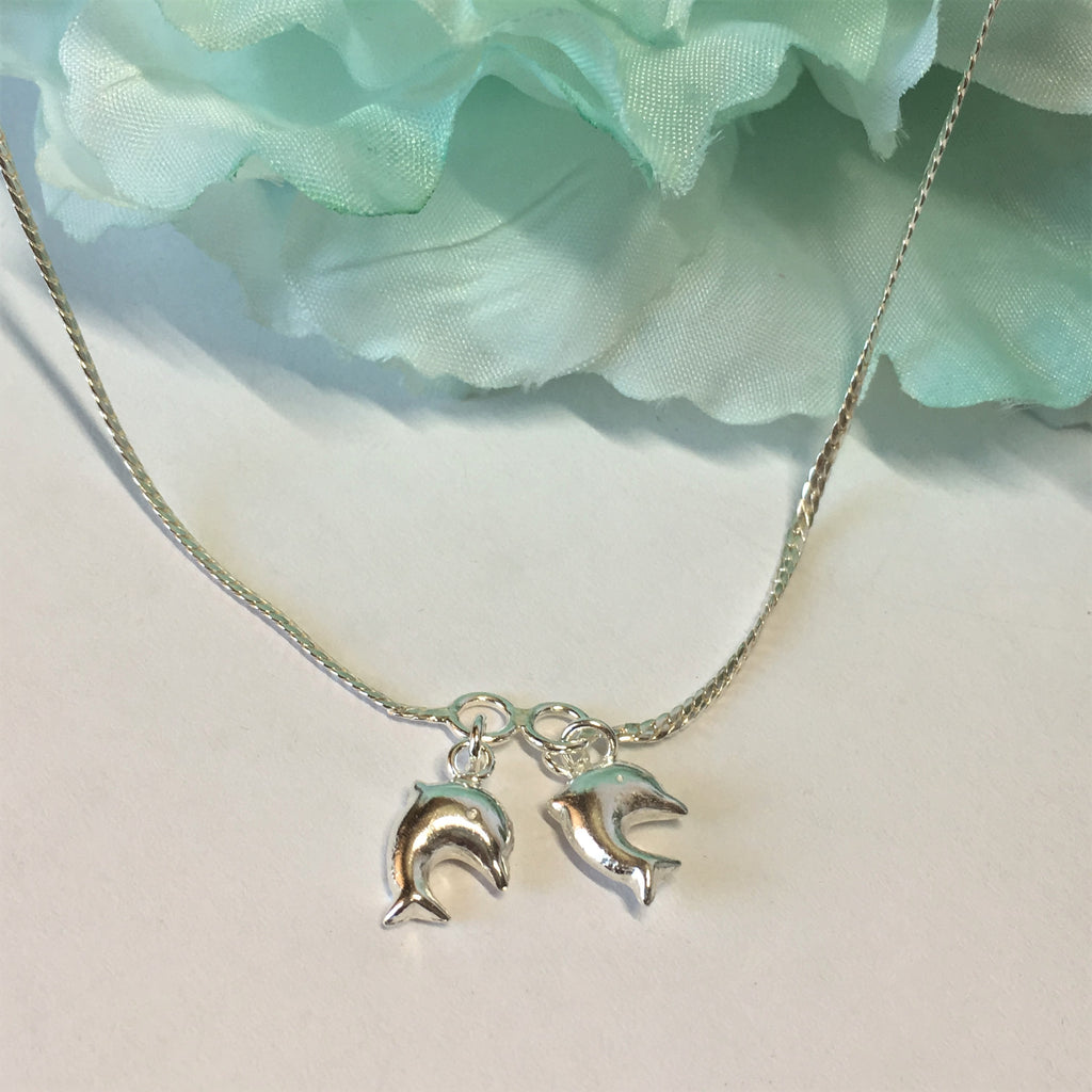Dancing Dolphins Anklet - VANK120