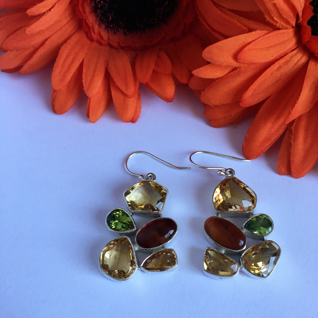 Persimmon Earrings - VE281