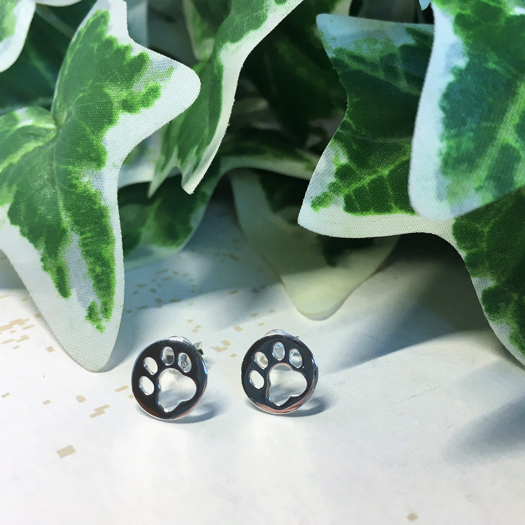 Paw Print Earrings - VE308