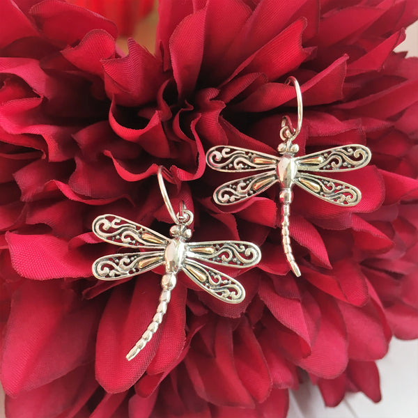 Golden Wings Earrings - VE348