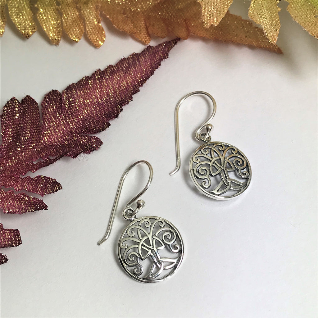 Celtic Tree Earrings - VE370