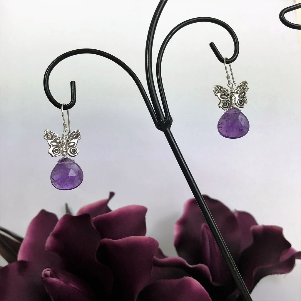 Paradise Purple Earrings - VE375
