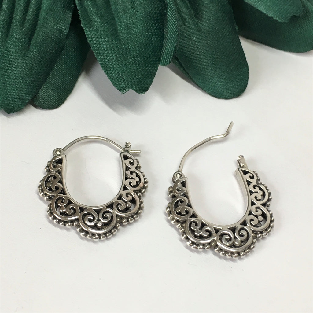 Cusco Hoop Earrings - VE378