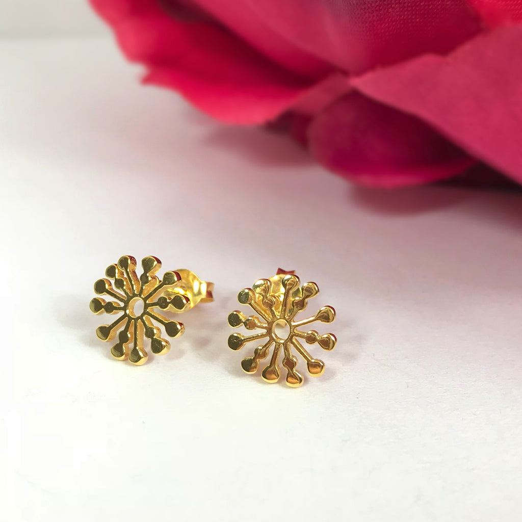Mayan Sun Earrings - VE388
