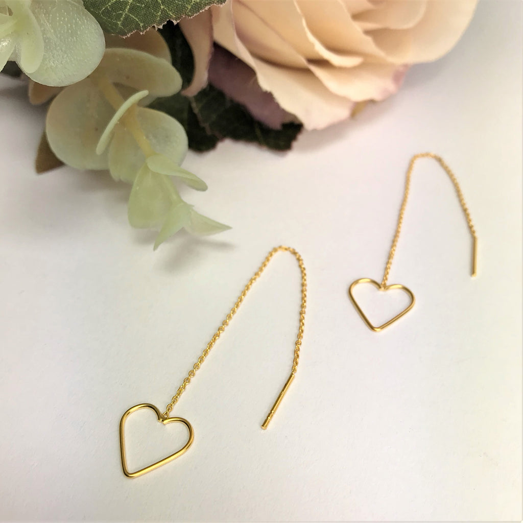 Golden Love Earrings - VE416