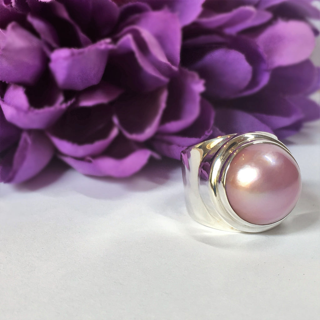 Pearl Blush Ring - VR207