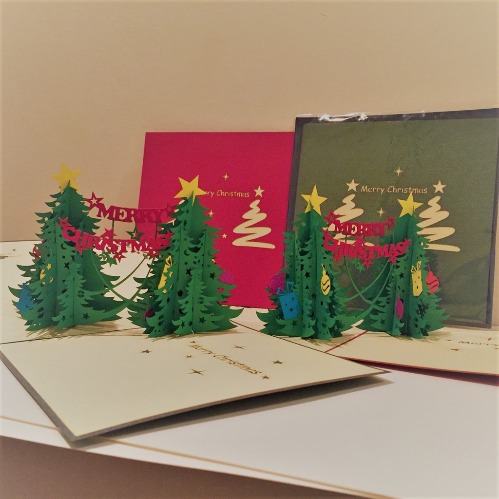 Merry Christmas Pop-Up Card - TJX1