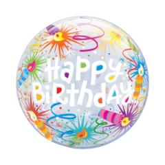 globo esférico happy birthday