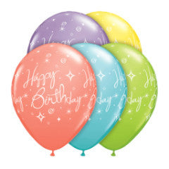 globos happy birthday