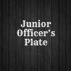 Junior Officers Plate