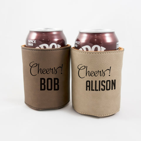 personalized can holder