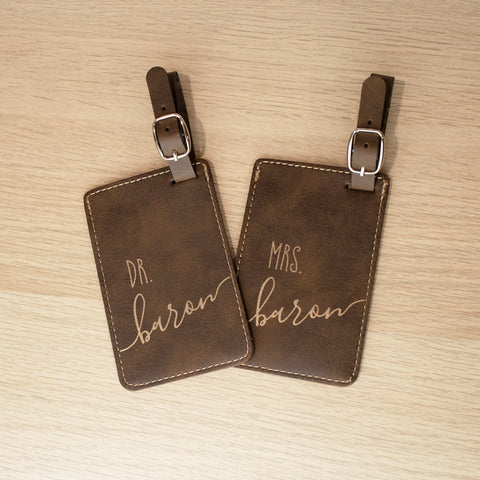 Doctors Luggage Tags