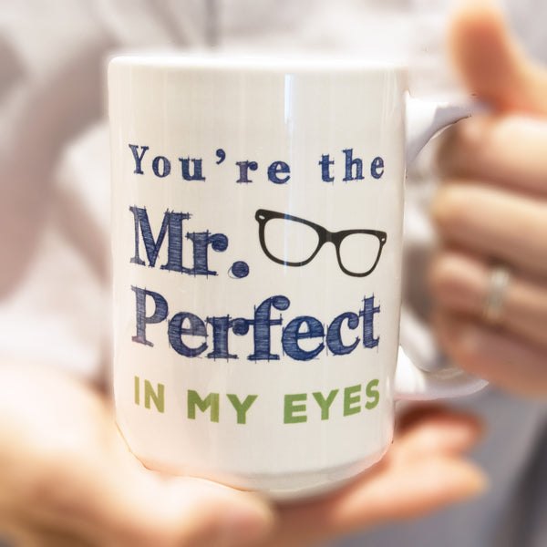 15oz personalized mug for hubby