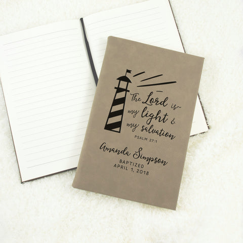 Personalized Baptism Journal