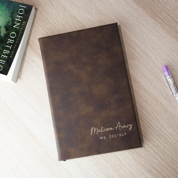 Personalized Journal, Personalized journal with script name