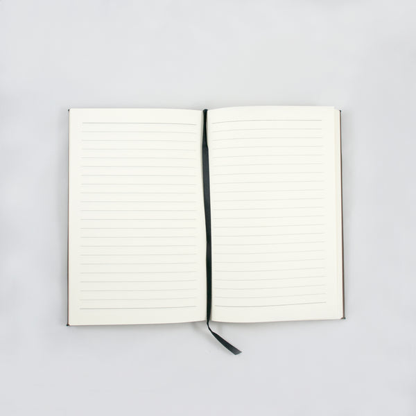 Personalized Leatherette Notebook- Script Name