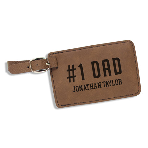 Personalized Luggage Tag for Dad