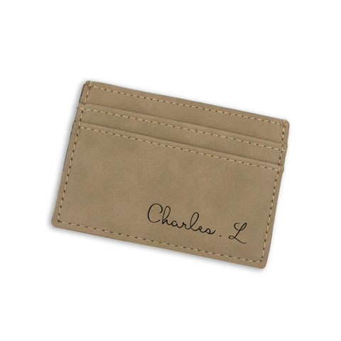 Personalized Money Clip - Dreamy Script