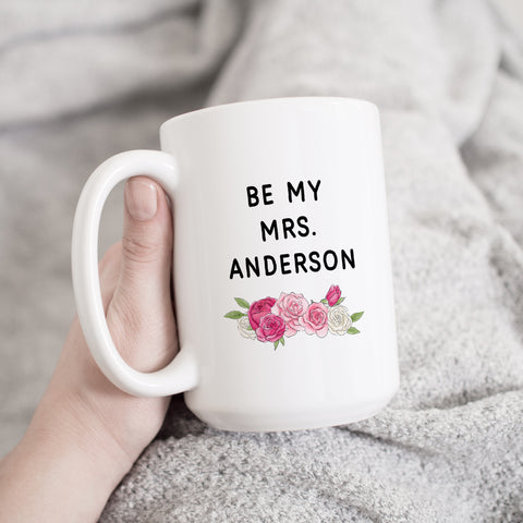 personalized proposal mug