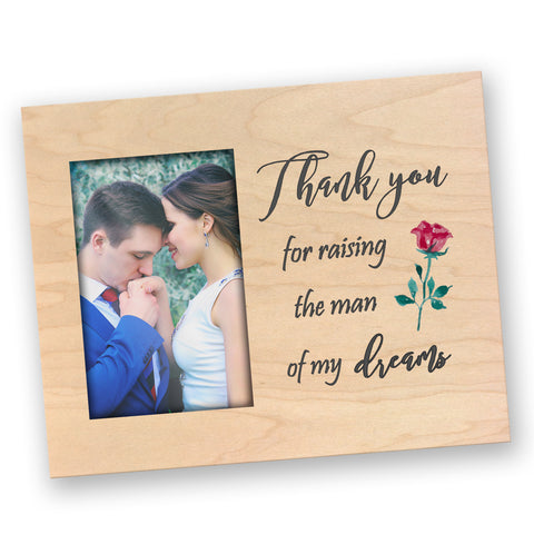 Personalized Wood Picture Frame - A Simple Thank You
