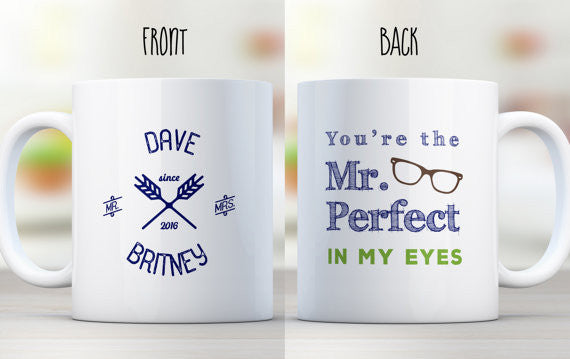 Mr. Perfect Mug for Husband
