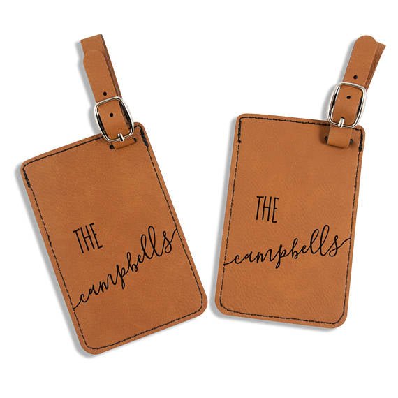 Personalized Family Luggage Tags