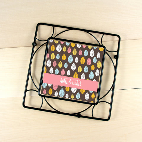 Personalized House Warming Gift Trivet