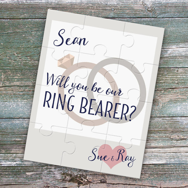 Will you be our ring bearer puzzle