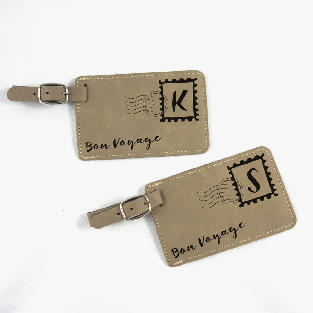 Personalized Mail Luggage Tags
