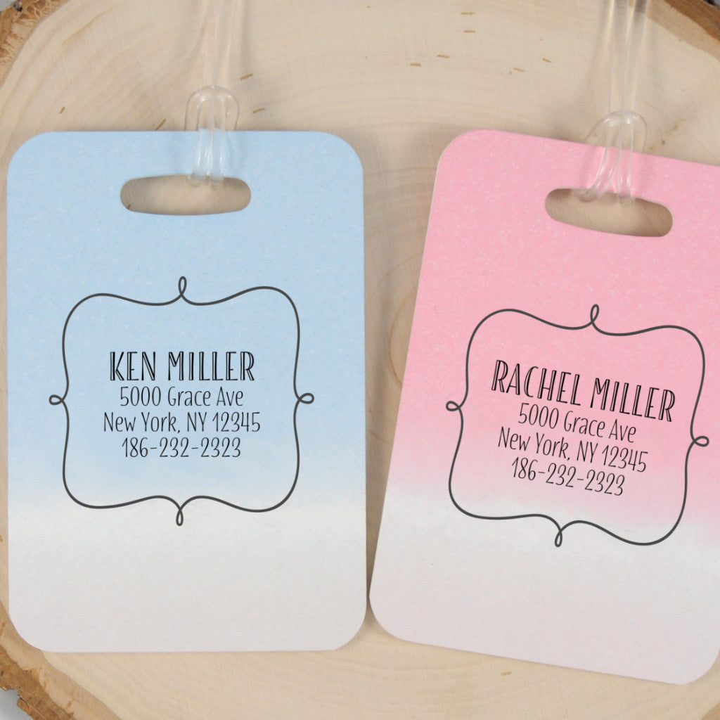 Personalized Luggage Tags X Every Trip is a Honeymoon - Set of 2 ...