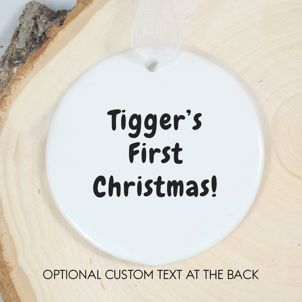 Personalized Ornament - Cat Lovers