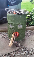 FrankenBruce, ready to grill