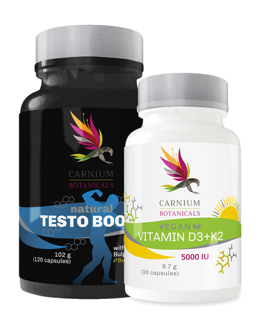 Paket Vitamin D & Natural Testo Boost -10%